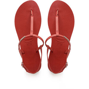havaianas You Riviera Sandals Damen ruby red ruby red