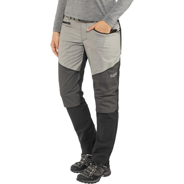 GORE WEAR H5 Windstopper Hybrid Pants Damen black/terra grey