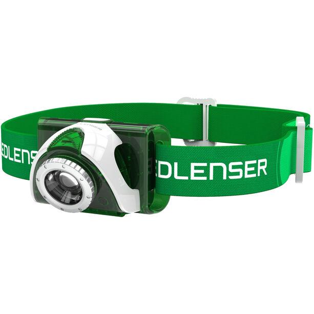Led Lenser LED SEO 3 Stirnlampe green