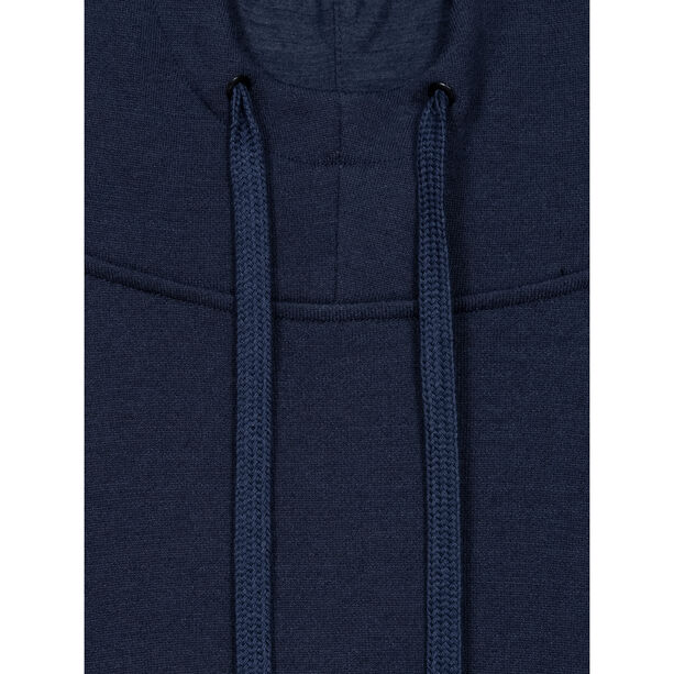 super.natural Knit Hoodie Herren blue iris melange