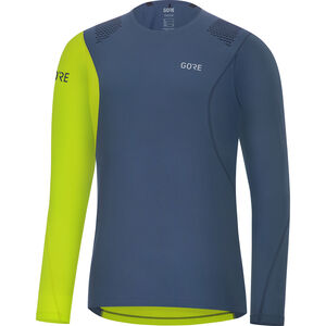 GORE WEAR R7 Longsleeve Shirt Herren deep water blue/citrus green deep water blue/citrus green