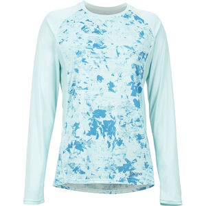 Marmot Crystal LS Shirt Damen blue tint mind game blue tint mind game