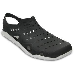 Crocs Swiftwater Wave Slippers Herren black/pearl white black/pearl white