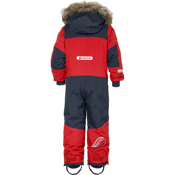 Didriksons 1913 Björnen Coverall Kinder chili red