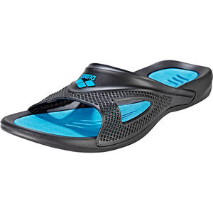 arena Hydrofit Hook Sandals Herren black-turquoise black-turquoise