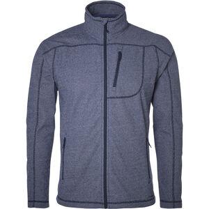 North Bend Aspect Fleece Jacket Herren peacoat blue peacoat blue