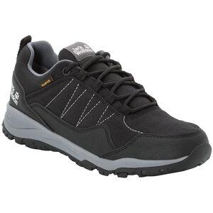 Jack Wolfskin Maze Texapore Low Schuhe Damen black/grey black/grey