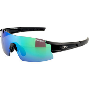 Tifosi Escalate HS Glasses Herren gloss black - clarion green/ac red/clear gloss black - clarion green/ac red/clear