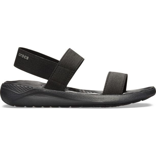 Crocs LiteRide Sandals Damen black/black