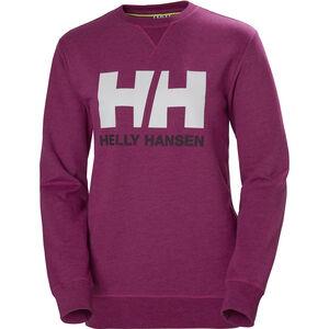 Helly Hansen Logo Crew Sweat Damen festival fuchsia festival fuchsia
