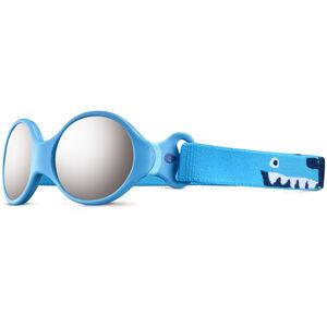 Julbo Loop S Spectron 4 Sonnenbrille Kinder blue turquoise/light blue/grey flash silver blue turquoise/light blue/grey flash silver