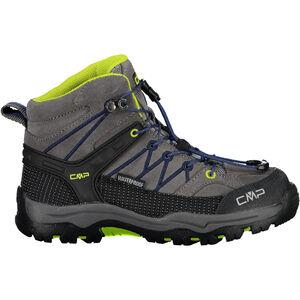 CMP Campagnolo Rigel Mid WP Trekking Shoes Kinder graffite/marine graffite/marine