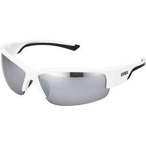 UVEX Sportstyle 215 Sportbrille white/black/silver
