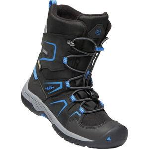 Keen Levo WP Shoes Jugend black/baleine blue black/baleine blue