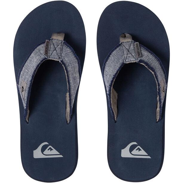Quiksilver Monkey Abyss Sandals Herren grey/blue/grey