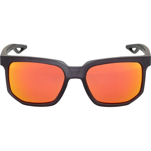 100% Centric Glasses matte crystal black | hd red multilayer/hiper lense