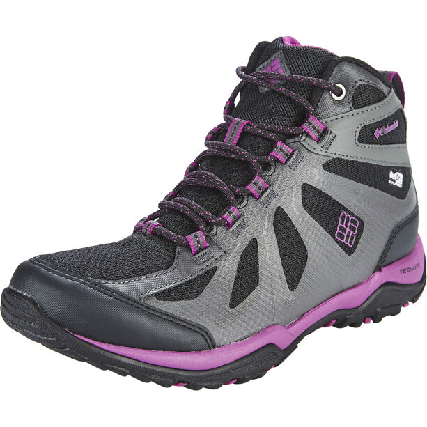 Columbia Peakfreak XCRSN II XCEL Mid Outdry Schuhe Damen black / intense violet