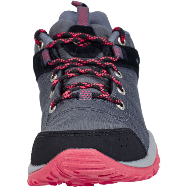 Columbia Fire Venture Textile Shoes Damen graphite/sunset red