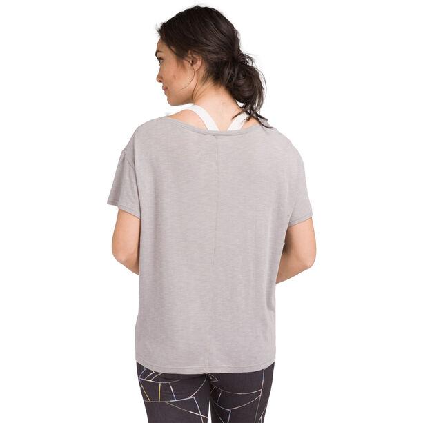 Prana Chez T-Shirt Damen heather grey breathe