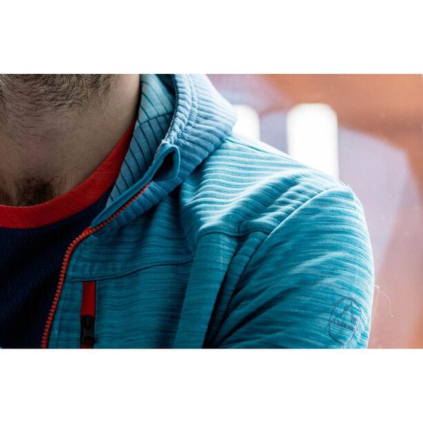 La Sportiva Training Day Hoodie Herren lake/tropic blue