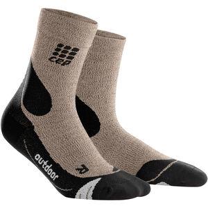 cep Dynamic+ Outdoor Merino Mid-Cut Socken Herren sand dune/black sand dune/black