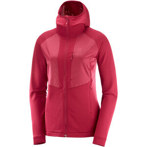 Salomon Grid FZ Midlayer Damen rio red rio red