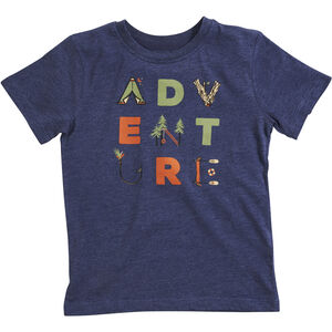 United By Blue Adventure SS Graphic Tee Kinder navy navy
