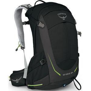 Osprey Stratos 24 Backpack Herren black black