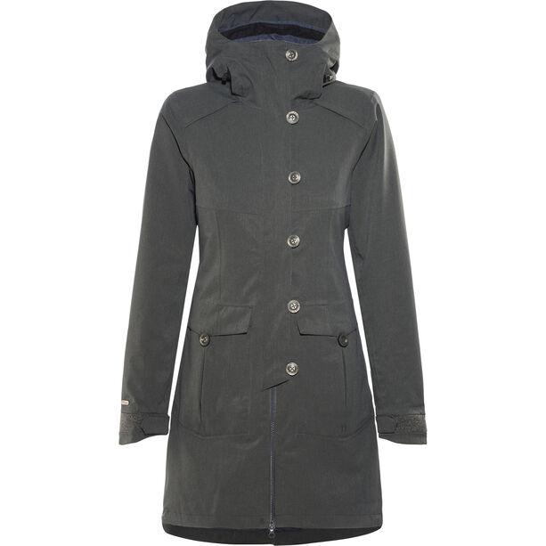 Bergans Bjerke 3in1 Coat Damen outer:solid charcoal/inner:night blue