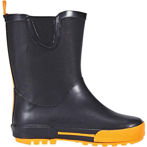 Kamik Rainplay Rubber Boots Kinder black/orange