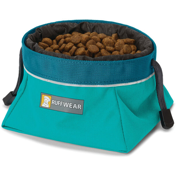 Ruffwear Quencher Cinch Top Napf meltwater teal
