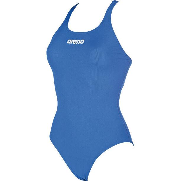 arena Solid Swim Pro One Piece Swimsuit Damen royal-white