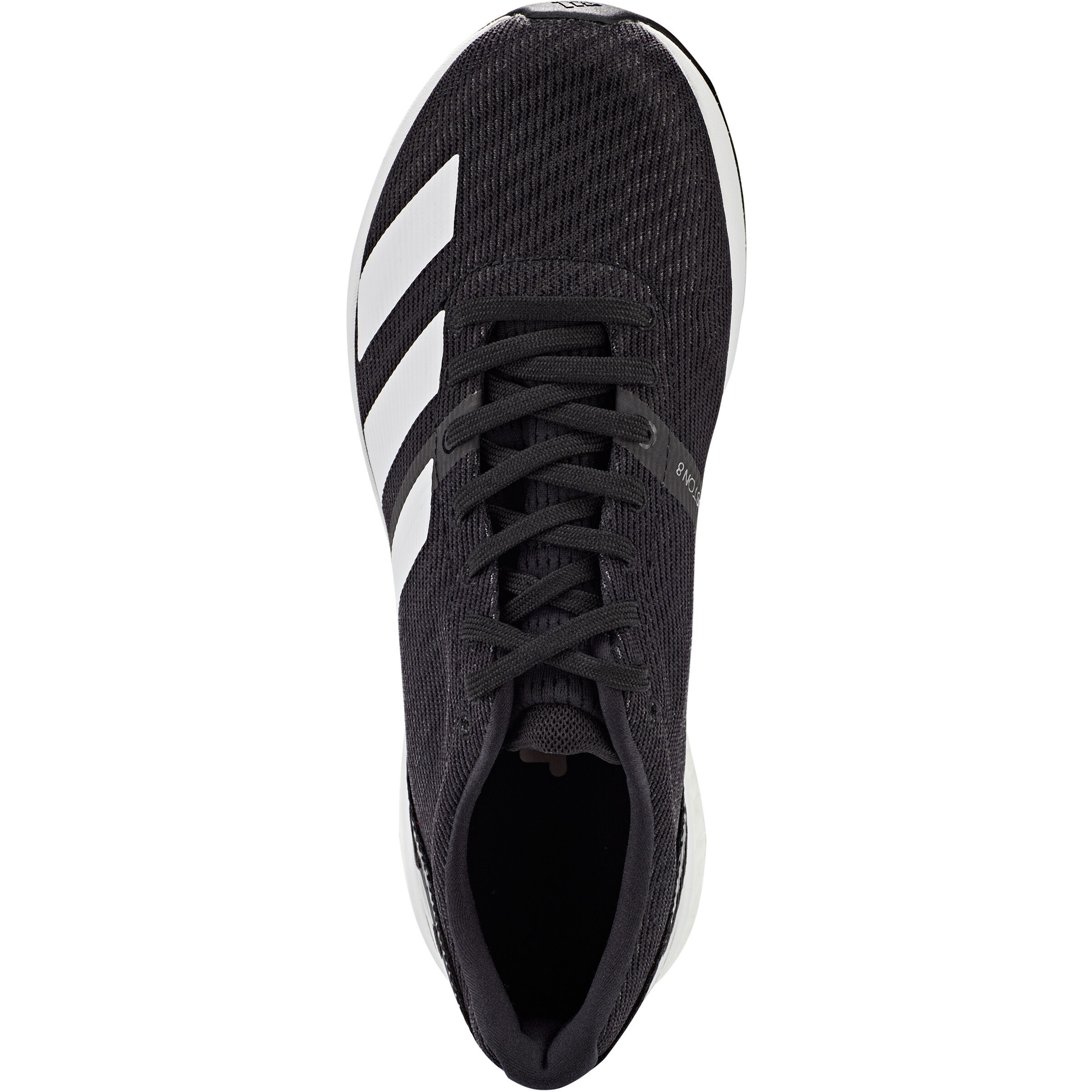 adidas Adizero Boston 8 Low Cut Schuhe Herren core blackfootwear whitegrey six