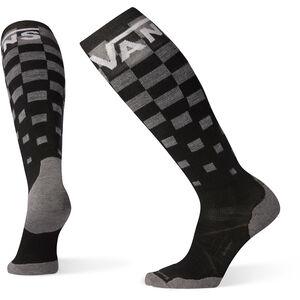 Smartwool PhD Snow VANS Checker Light Elite Socken black black