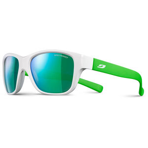 Julbo Turn Spectron 3CF Sunglasses 4-8Y Kinder shiny white/fluorescent green-multilayer green shiny white/fluorescent green-multilayer green