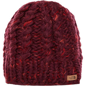The North Face Chunky Knit Beanie fig/faded rose multi fig/faded rose multi