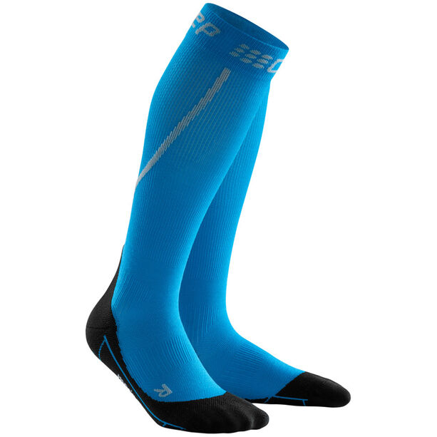 cep Winter Run Socks Herren electric blue/black