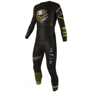 Z3R0D Vanguard Wetsuit Herren black/yellow black/yellow