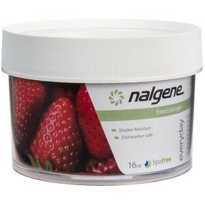 Nalgene Polycarbonat Dose 500ml white white