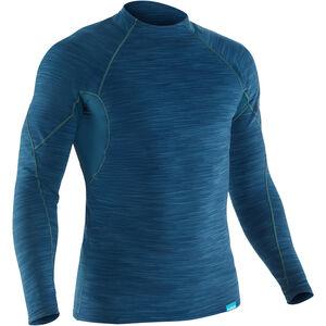 NRS HydroSkin 0.5 Longsleeve Shirt Herren moroccan blue moroccan blue