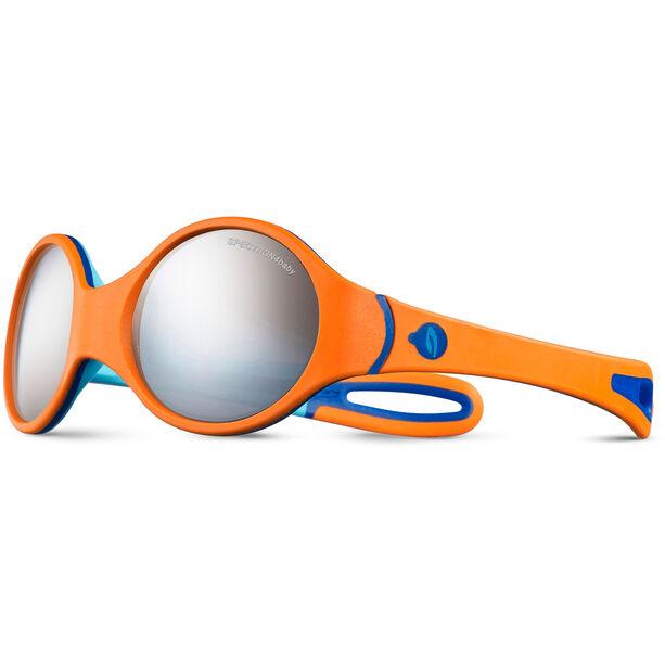 Julbo Loop Spectron 4 Sunglasses 2-4Y Kinder orange/sky blue/blue-gray flash silver