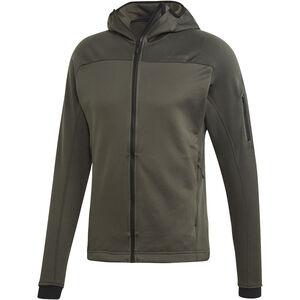 adidas TERREX Stockhorn Hooded Fleece Jacket Herren legear legear