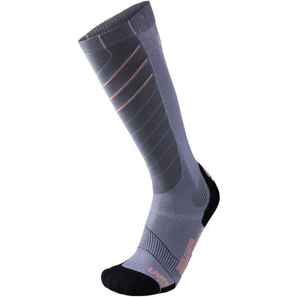 UYN Ski Superleggera Socks Damen silver/coral