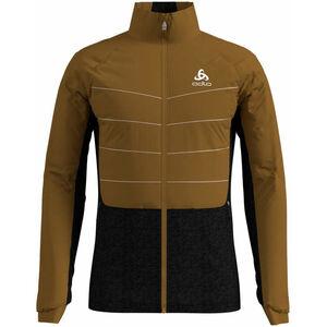 Odlo Millenium S-Thermic Jacke Herren golden brown/black golden brown/black