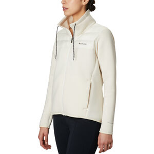 Columbia Northern Comfort Hybrid Jacket Damen chalk chalk
