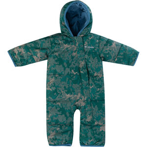 Columbia Snuggly Bunny Bunting Overall Säugling pine green continents camo/blue heron pine green continents camo/blue heron