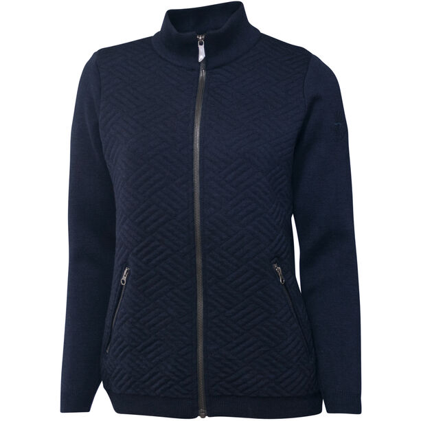 Ivanhoe of Sweden Elna Full Zip Jacke Damen navy