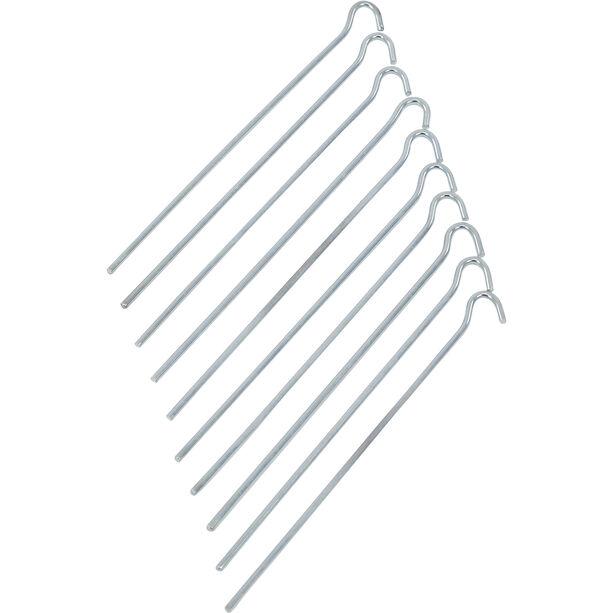 CAMPZ Stahl Erdnagel 25cm Glatt silber