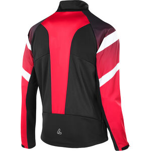 Löffler Worldcup Windstopper Light Jacke Herren black/red black/red