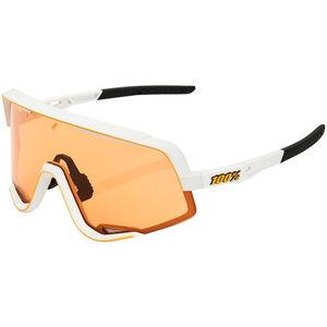 100% Glendale Colored Lens Sunglasses matte white matte white